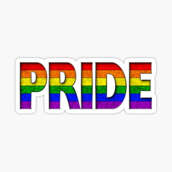 Rainbow PRIDE - Rainbow Sticker