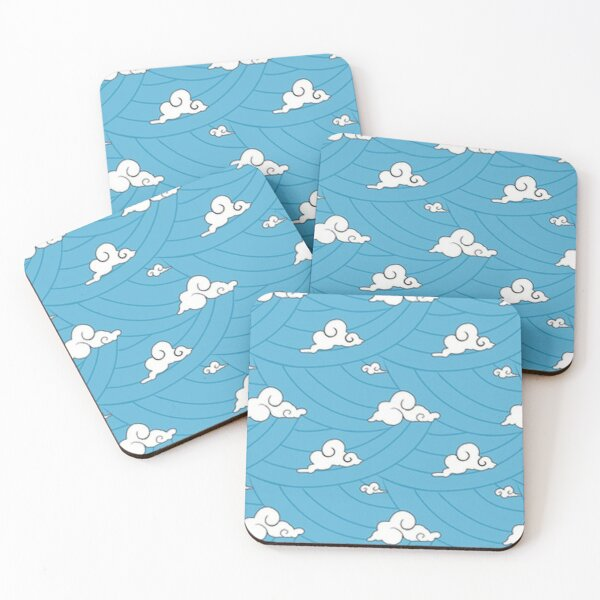 Tanjiro Final Selection Kimono pattern Demon Slayer Coasters (Set of 4)