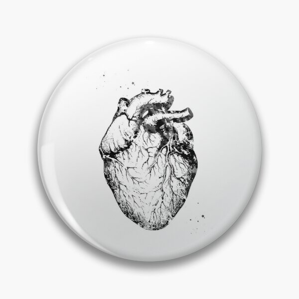 Heart Anatomy Pin