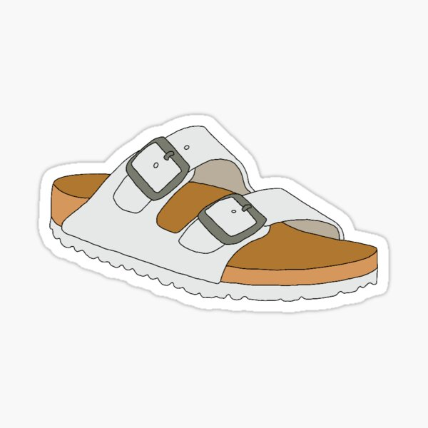 birkenstocks Sticker