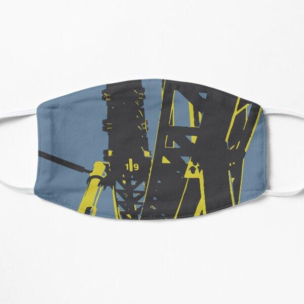 Steel Coaster Ride Flat Mask