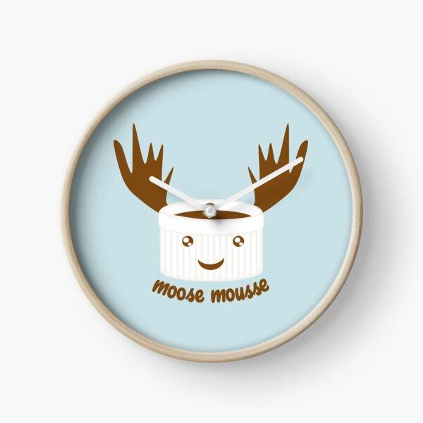 Moose Mousse Clock
