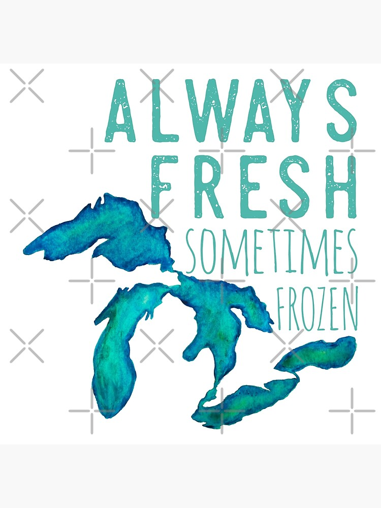 Great Lakes Always Fresh, Sometimes Frozen by GreatLakesLocal
