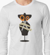 dress dummy sewing mannequin scissors Long Sleeve T-Shirt