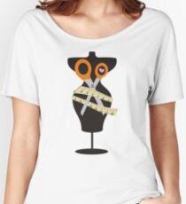 dress dummy sewing mannequin scissors Women's Relaxed Fit T-Shirt