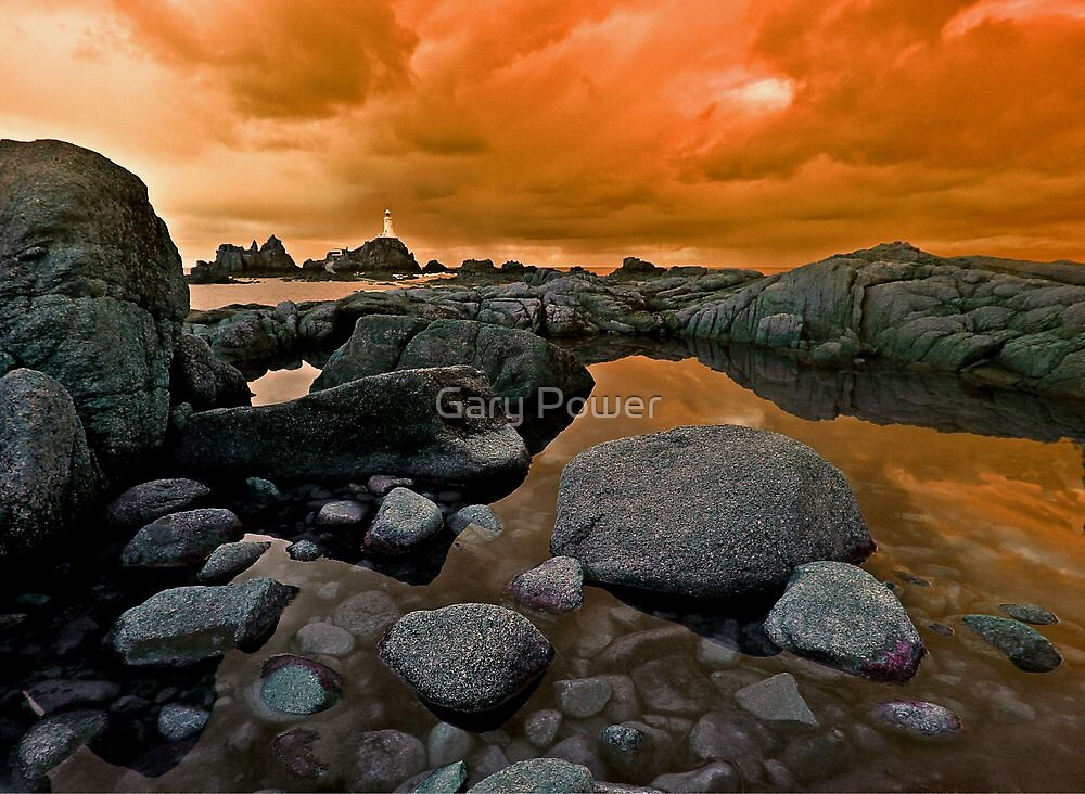 A view of Corbiere Jersey by Gary Power