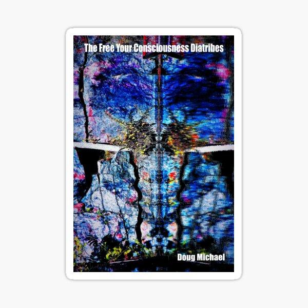 Book cover art Sticker
