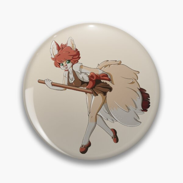 Senfen The Foxy Witch Pin