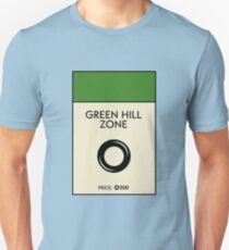 Green Hill Zone Monopoly (Sonic the Hedgehog) Unisex T-Shirt