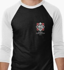 Shinra Corporation - Pocket Print Men's Baseball ¾ T-Shirt