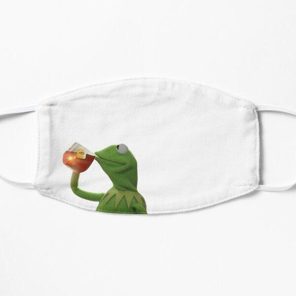 Coronavirus Kermit Meme Mask Flat Mask
