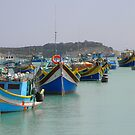 Malta boats  by mikequigley
