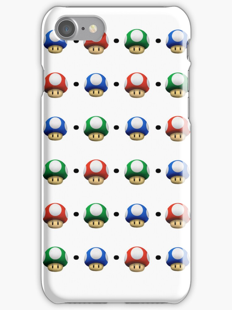 Mario Mushrooms by tappers24
