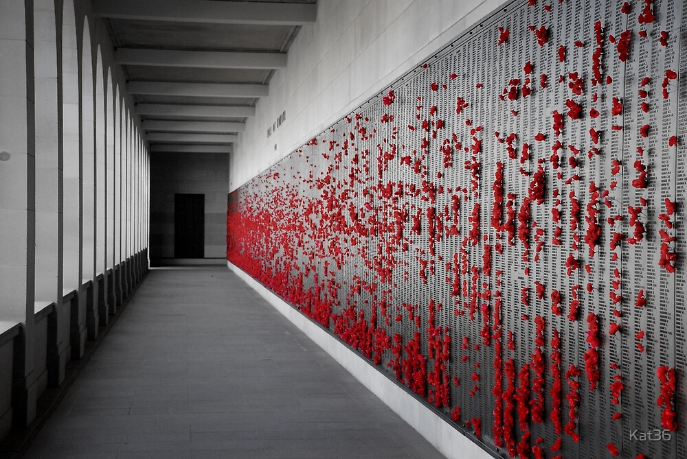 Wall of Rememberence  by Kat36