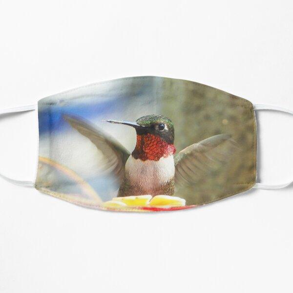 Male Ruby-throated Hummingbird Flat Mask