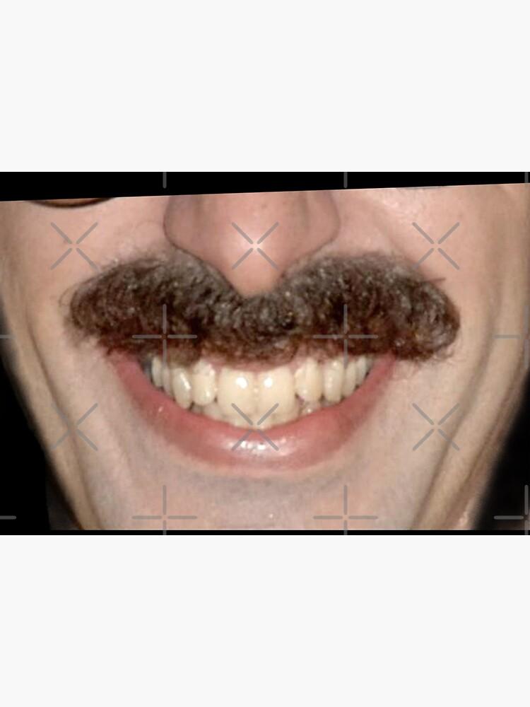 Borat face mask by opippi