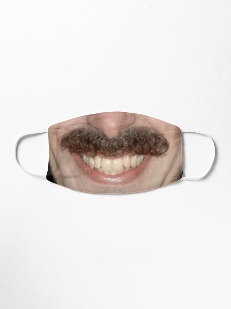 Alternate view of Borat face mask Mask