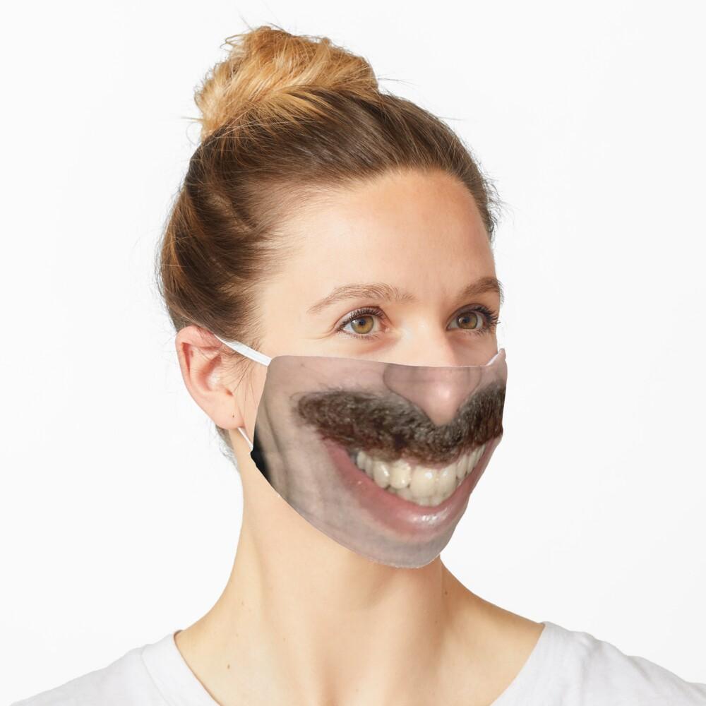 Borat face mask Mask
