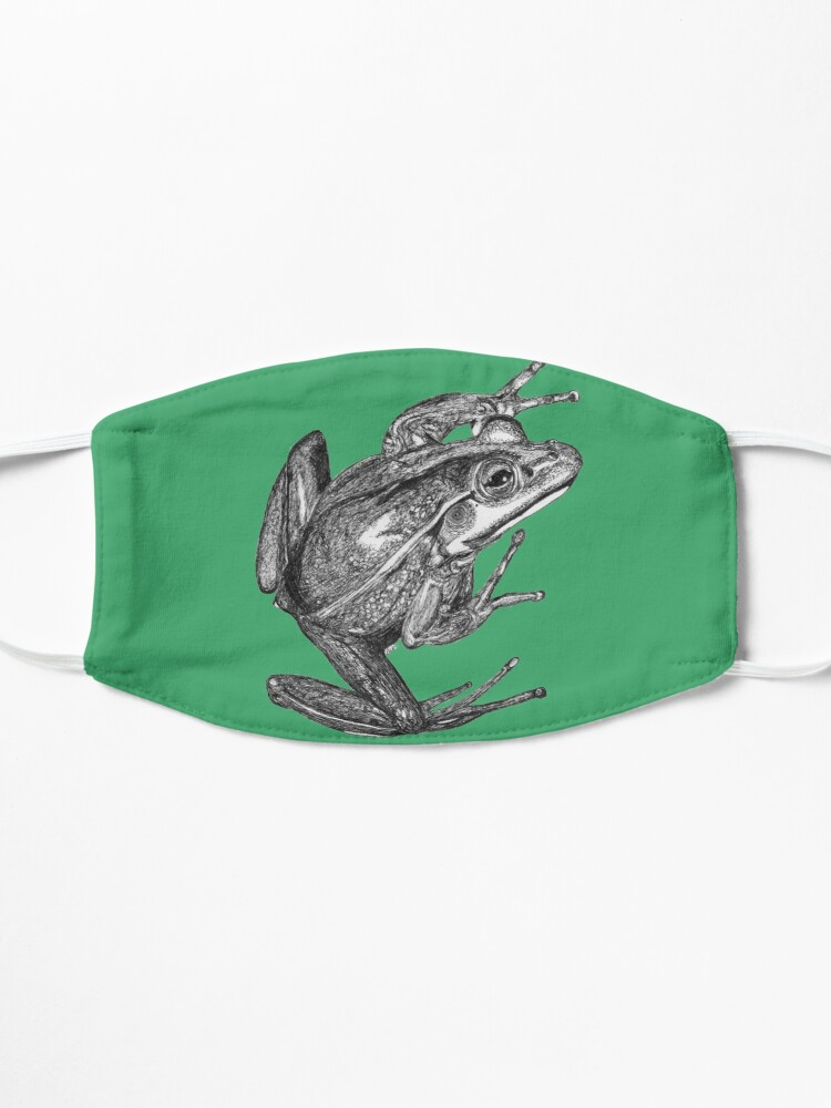 Alternate view of Vonny the Frog Mask