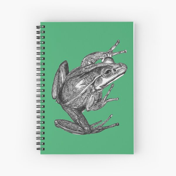 Vonny the Frog Spiral Notebook