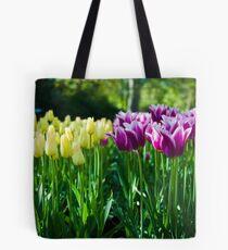 Purple and White Tulips @ Keukenhof Tote Bag