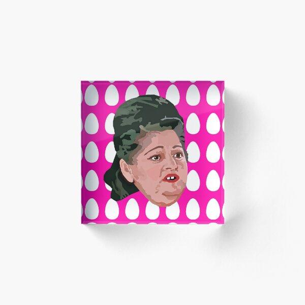 卵 - Edith Massey Acrylic Block