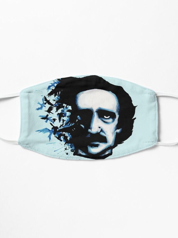 Alternate view of Edgar Allan Poe Crows Mask