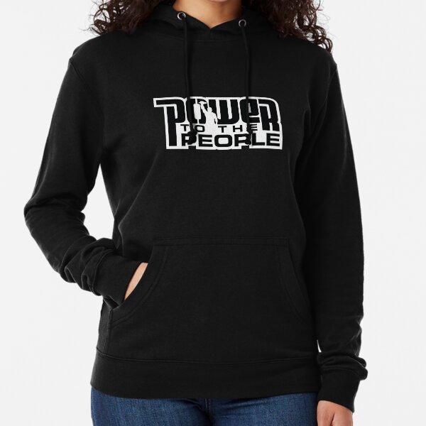 Power To The People - BLACK Lightweight Hoodie