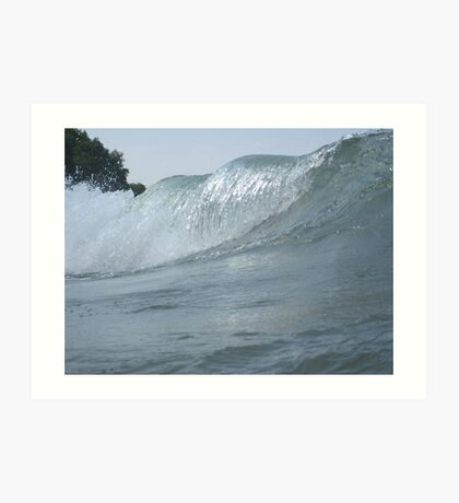 Surfs Up in Whitefish Bay Wisconsin Art Print
