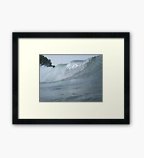 Surfs Up in Whitefish Bay Wisconsin Framed Print