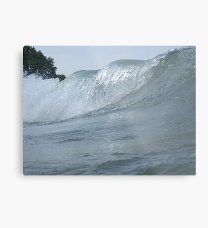 Surfs Up in Whitefish Bay Wisconsin Metal Print