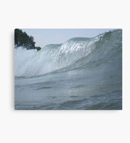 Surfs Up in Whitefish Bay Wisconsin Canvas Print