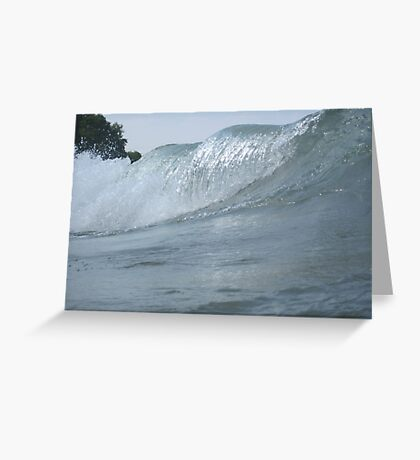Surfs Up in Whitefish Bay Wisconsin Greeting Card