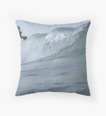 Surfs Up in Whitefish Bay Wisconsin Throw Pillow