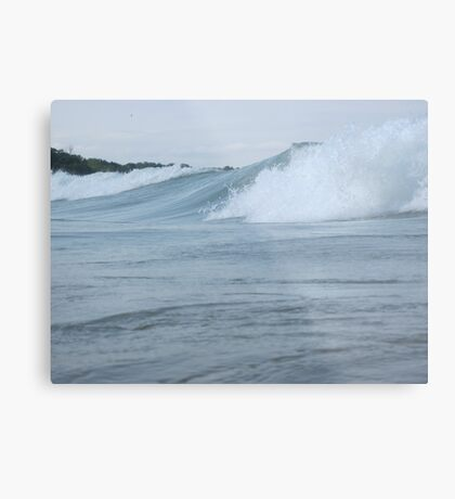 Surfs up in Whitefish Bay Wisconsin Img 406 Metal Print