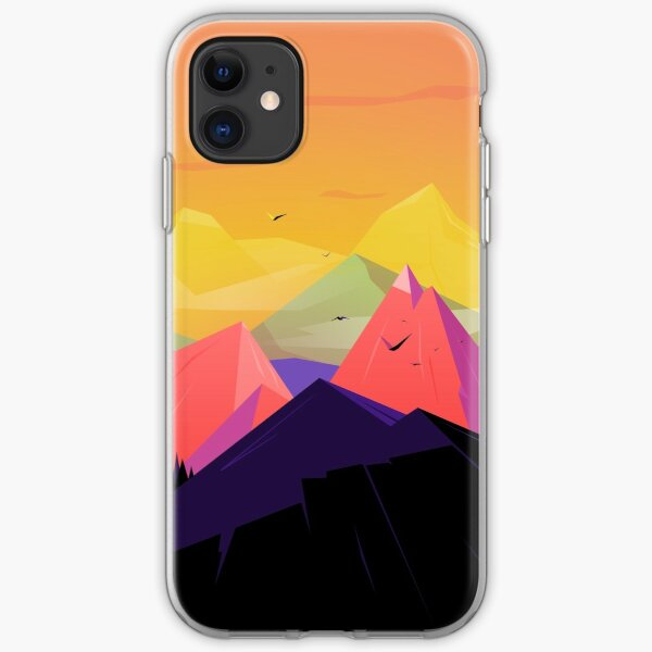 Oh the mountains iPhone Soft Case