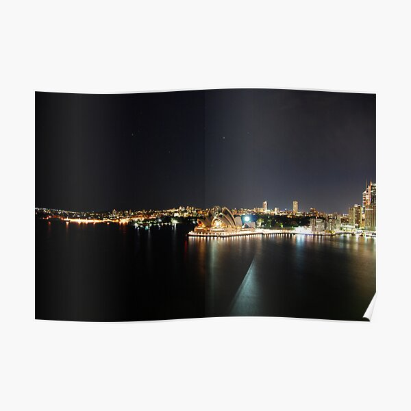 Peaceful harbour Poster