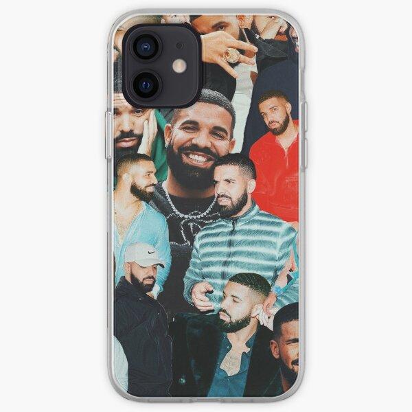 collage de drake Coque souple iPhone
