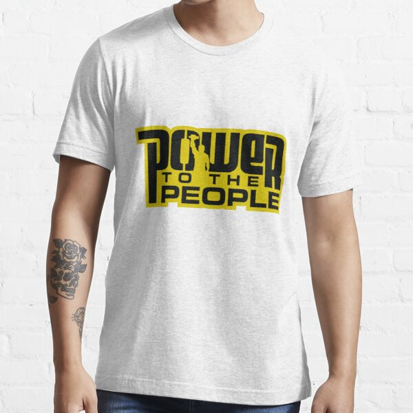 Power To The People - GOLD Essential T-Shirt