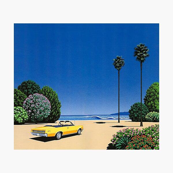Hiroshi Nagai Art Print Poster Vaporwave Aesthetic Wallpaper T-Shirt Photographic Print