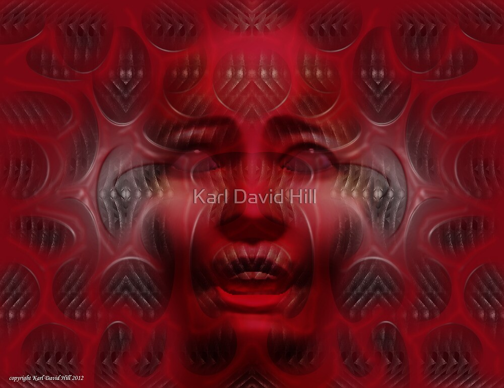 Rebirth (Abiogenesis dreaming 002) by Karl David Hill