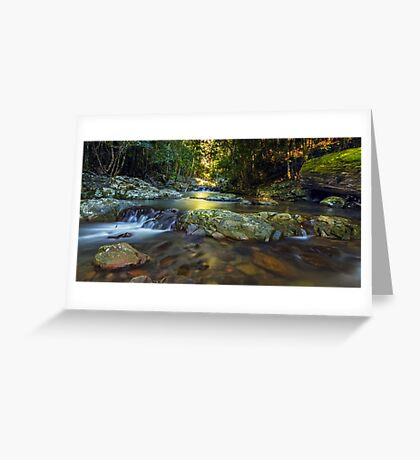 Light in the Valley Greeting Card