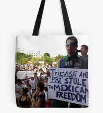 Speachless Tote Bag