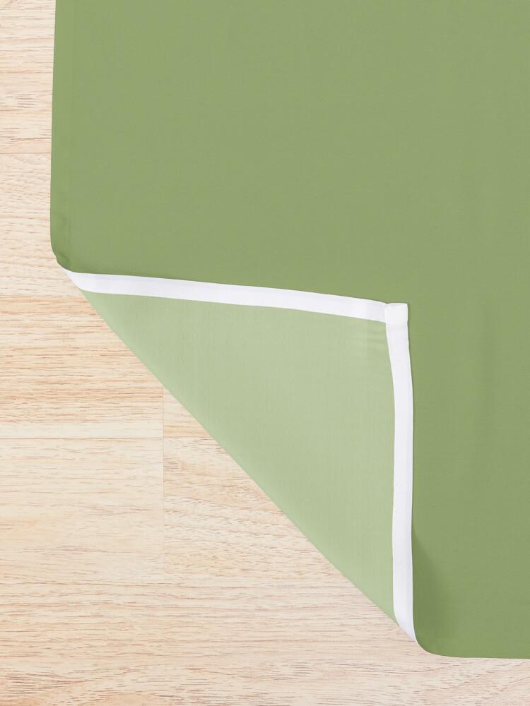 Alternate view of It's an Avocado! ...Thanks! - Vine Design Shower Curtain