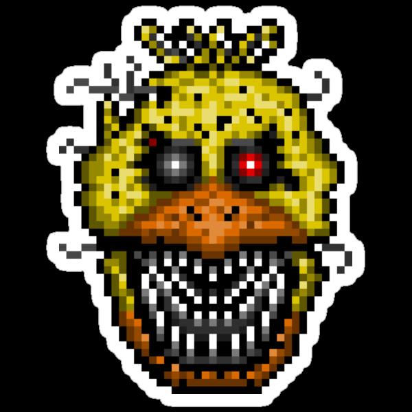 """Five Nights at Freddys 4 Nightmare Cupcake Pixel art"