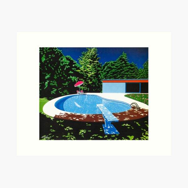 Hiroshi Nagai Art Print Poster Vaporwave Aesthetic Wallpaper T-Shirt Art Print