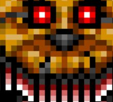 Five Nights at Freddys 4 - Nightmare Fredbear - Pixel art Sticker