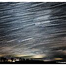 Startrails - Roggosen - Germany by Ronny Falkenstein