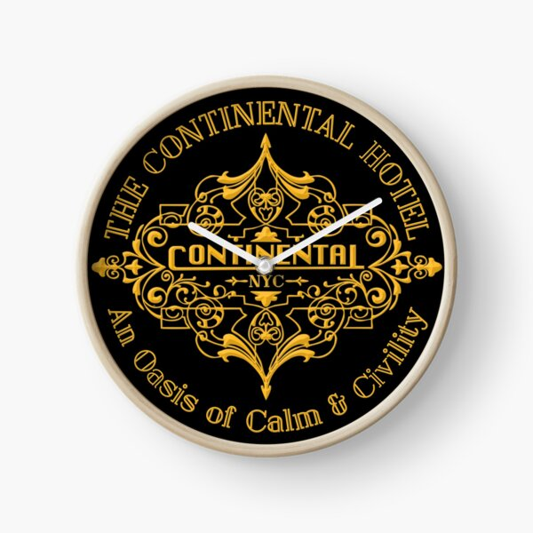 The Continental Hotel Clock
