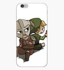 Skyim-Legend of Zelda iPhone Case
